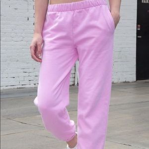 Brandy Melville pink pods sweatpants